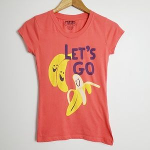 Freeze Let's Go Bananas Red Short Sleeved T-Shirt